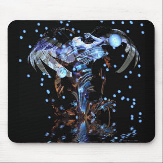 Abstract Angel Mouse Pad
