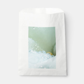 Abstract Angle Of A Calla Lily Flower With Dew And Favour Bag