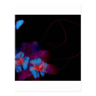 Abstract Animal Butterfly Flight Postcard