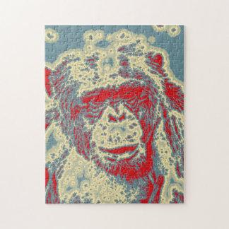 abstract Animal - Chimpanzee Puzzle