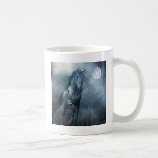 Abstract Animal Moonlight Horse Coffee Mug