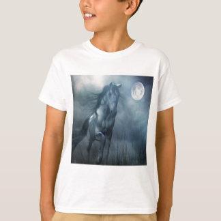 Abstract Animal Moonlight Horse Tshirts