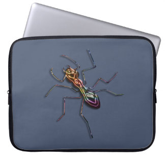 Abstract ant. laptop sleeve
