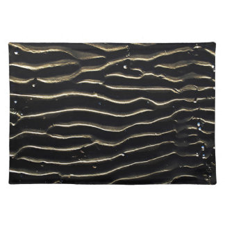 Abstract Antique Junk Style Fashion Art Solid Shin Place Mats