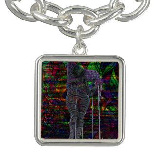 Abstract Aquarius Goddess Charm Bracelets