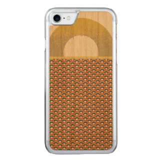 Abstract Arches on Wood Carved iPhone 8/7 Case