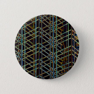Abstract Architecture 2 Inch Round Button