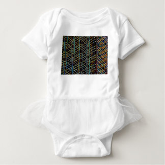 Abstract Architecture Baby Bodysuit