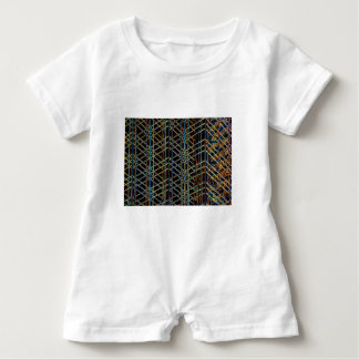 Abstract Architecture Baby Romper
