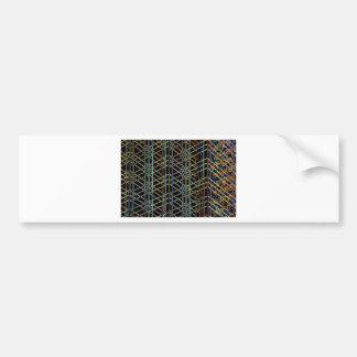 Abstract Architecture Bumper Sticker