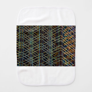Abstract Architecture Burp Cloth