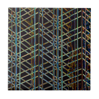 Abstract Architecture Ceramic Tile