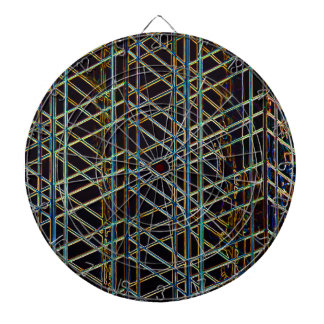 Abstract Architecture Dart Board
