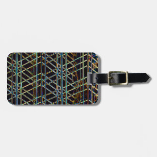 Abstract Architecture Luggage Tag