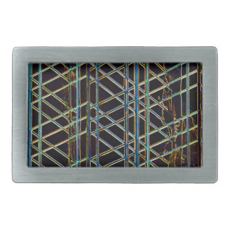 Abstract Architecture Rectangular Belt Buckles