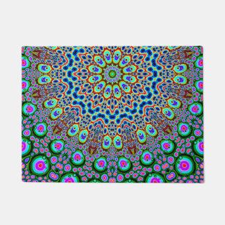 Abstract Array of Colors Doormat