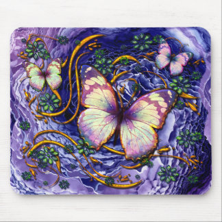 Abstract Art 115 & Butterfly Option Mousepad