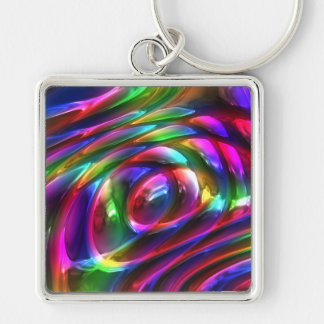 Abstract Art 14 Keychain
