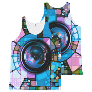 Abstract Art 151 All-Over-Print Tank Top