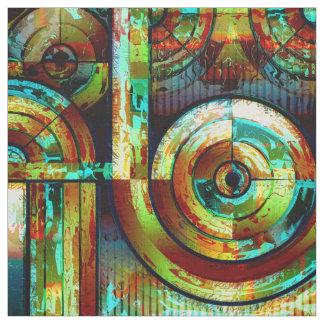 Abstract Art 173 Custom Fabric