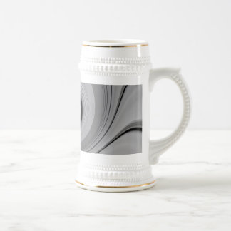 ABSTRACT ART 18 OZ BEER STEIN