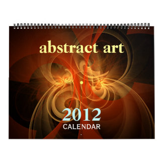 Abstract Art 2012 Fine Art Calendar (Huge)