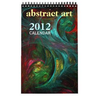 Abstract Art 2012 Fine Art Calendar (Mini)