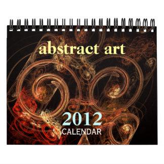 Abstract Art 2012 Fine Art Calendar (Small)