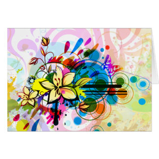 Abstract Art 26 Card