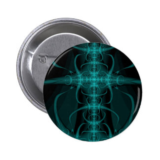 Abstract art 2 inch round button