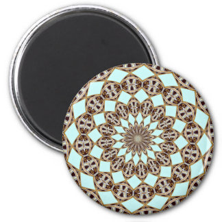 ABSTRACT ART 2 INCH ROUND MAGNET