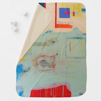 """Abstract Art Baby Blanket """"Sunrise Till Sunset"""""""