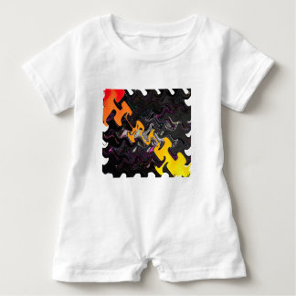 Abstract Art Baby Romper