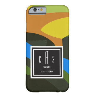 Abstract Art Barely There iPhone 6 Case