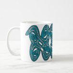 Abstract Art Basic White Mug