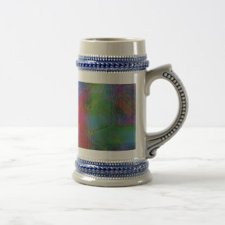 ABSTRACT ART BEER STEINS