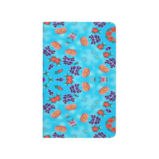 Abstract Art Blue Pink And Purple Journals