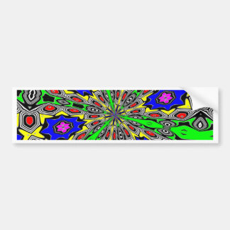 ABSTRACT ART BUMPER STICKERS