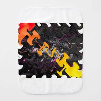 Abstract Art Burp Cloth