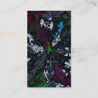 Abstract Art Business Card