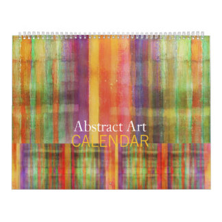 Abstract Art Calendar