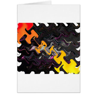 Abstract Art Card
