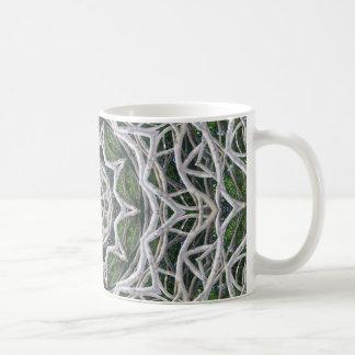 ABSTRACT ART CLASSIC WHITE COFFEE MUG
