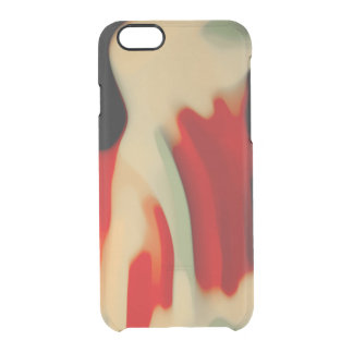Abstract Art Clear iPhone 6/6S Case