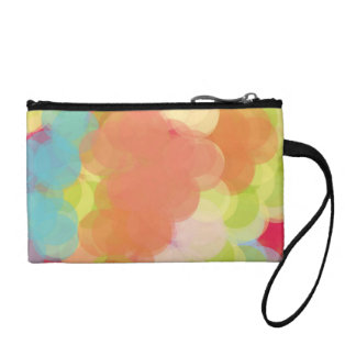 Abstract Art Coin Wallet