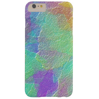 Abstract Art Colorful Textured Glass Barely There iPhone 6 Plus Case