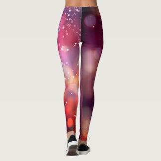 Abstract Art Colorful Unique Leggings