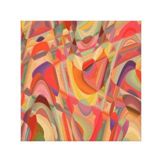 Abstract Art Colour Composition Canvas Print