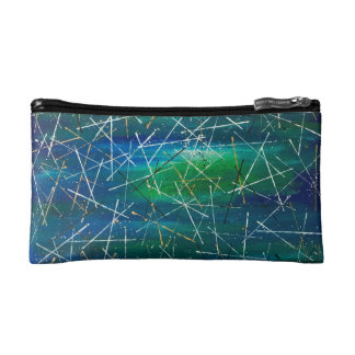 Abstract Art Cosmetic Bag