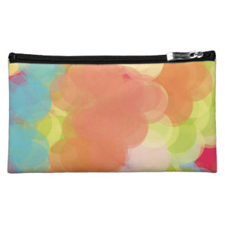 Abstract Art Cosmetics Bags